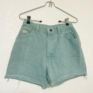 Vintage Wrangler high waist shorts